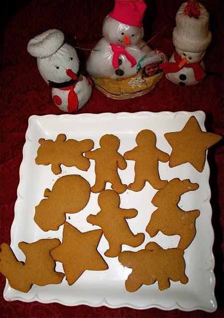 Spelt Gingerbread Cookies