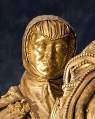 Esculturas orantes en el Retablo Mayor
