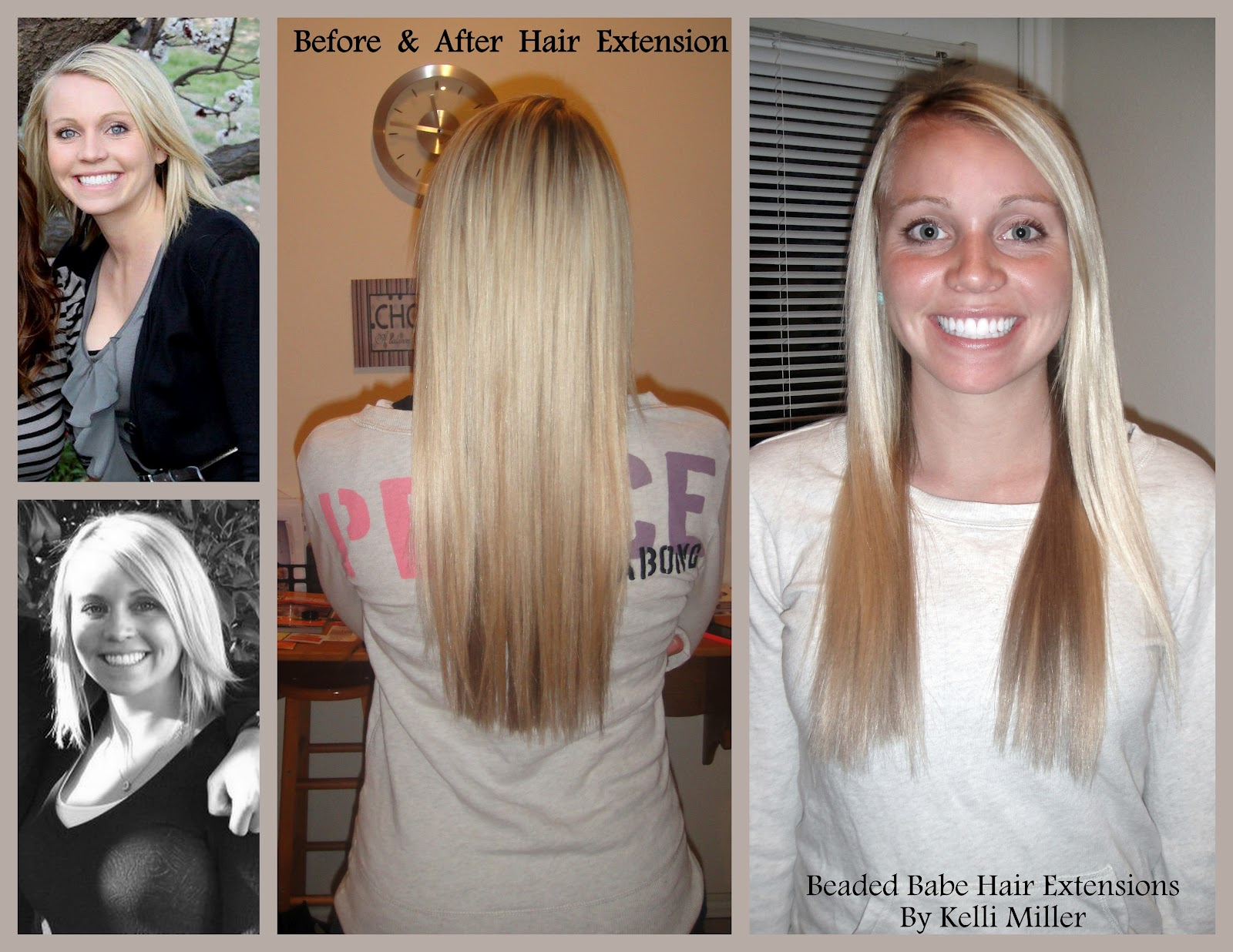 Kelli Miller Beauty Beaded Hair Extensions Chelsea By Kelli Miller