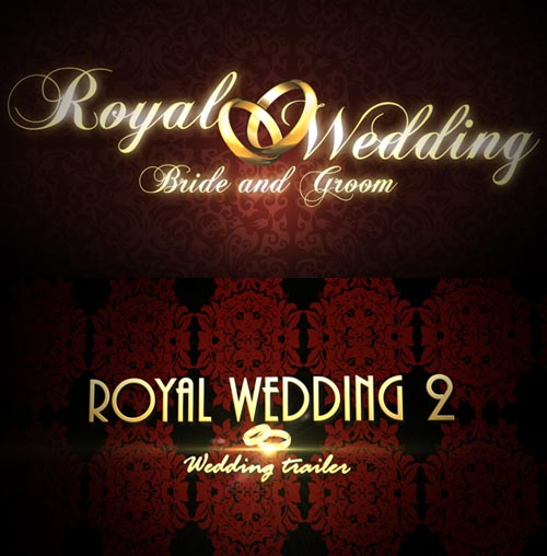 Projects for After Effects - Royal Wedding