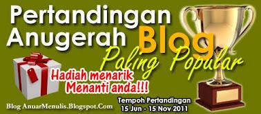 Pertandingan Anugerah Blog Popular
