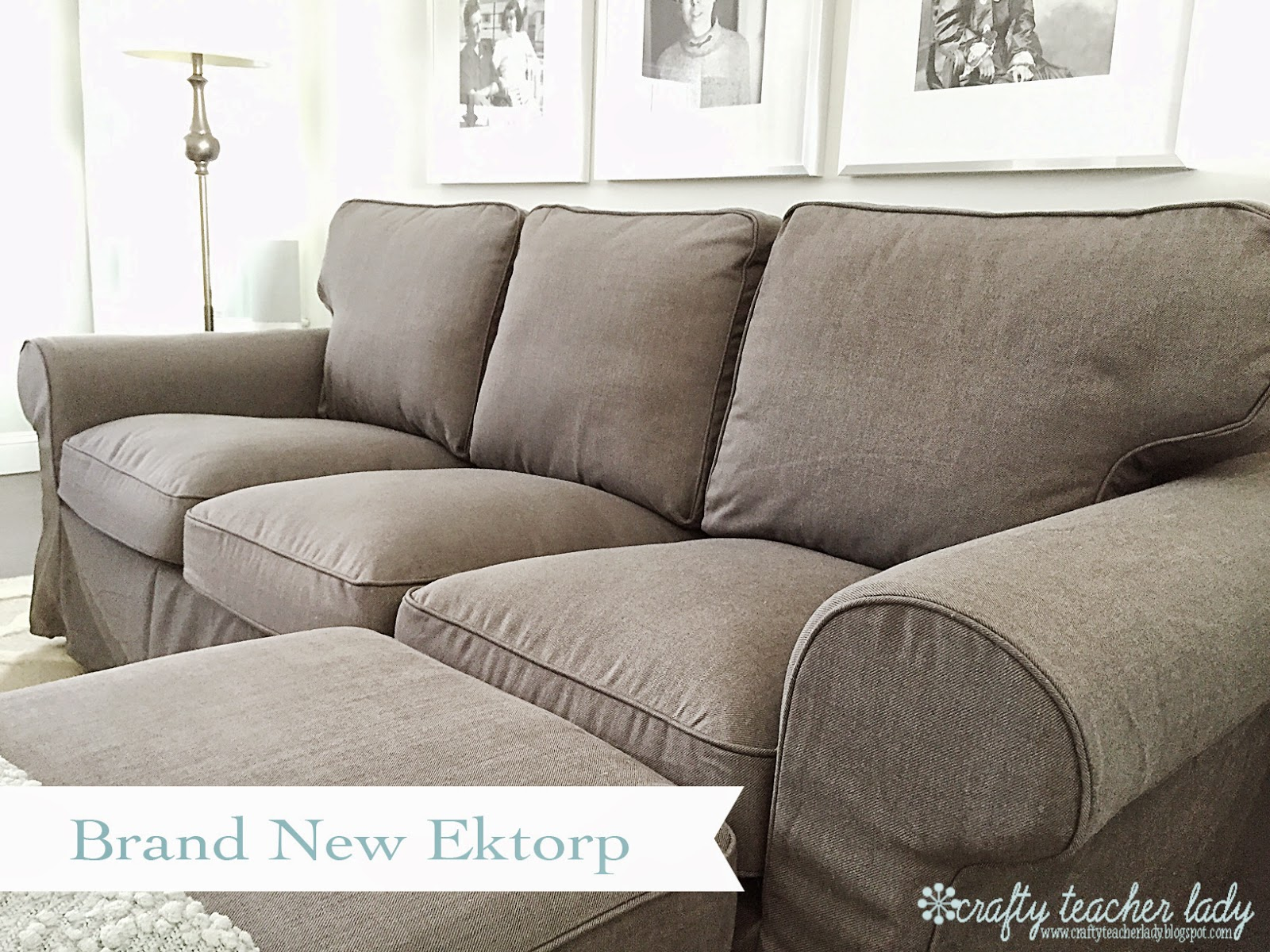 crafty teacher lady review of the ikea ektorp sofa series. Black Bedroom Furniture Sets. Home Design Ideas