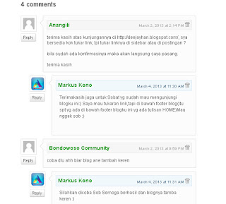 Menghapus Threaded Comment Blogger