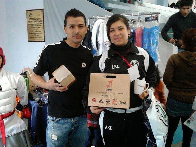 ISABEL M. ACO (Peru) Campeona de Kumite , 3ra en JUEGOS MUNDIALES 2013 / Campt. DOJO WILSON 2013