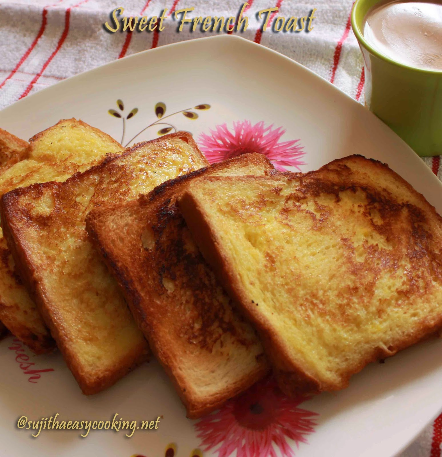 French Toast Recipeep By Step Cooking Is Easy Bread Toast Sujitha  Easycooking Sujitha Easycooking