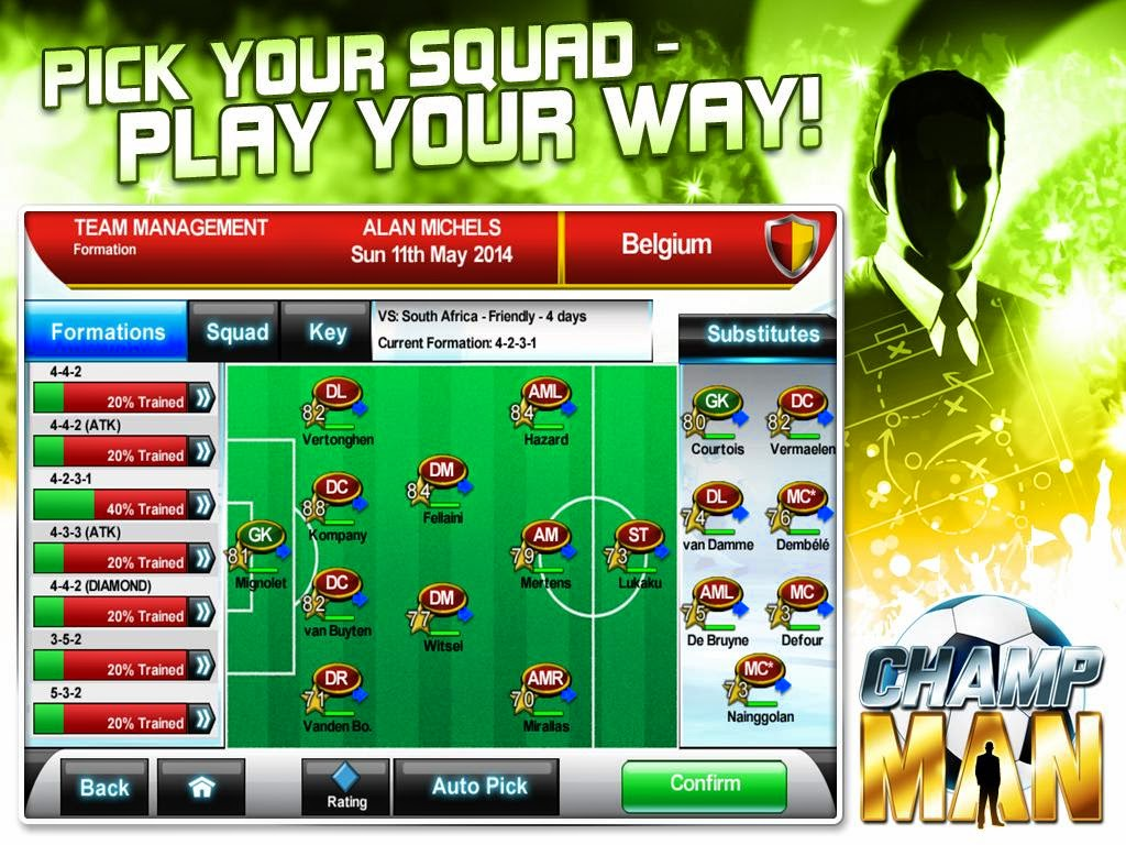 Android Games Champ Man 14 Offline Asik Gratis - 4