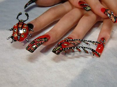 Extreme Acrylic Nail Designs