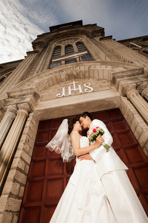 Ảnh cưới điều kỳ diệu của tình yêu