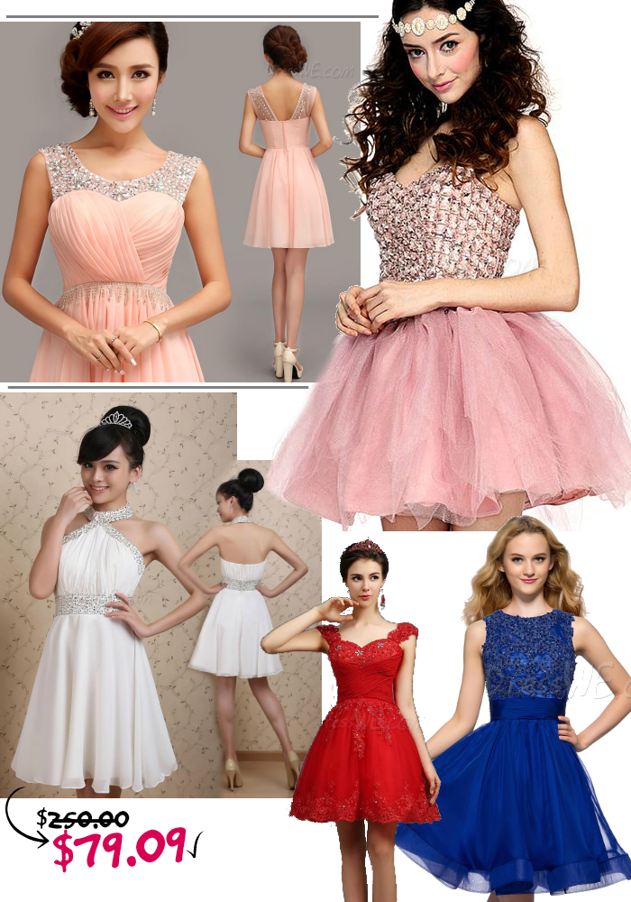 Dresswe Cheap Summer Homecoming Dresses Promotion