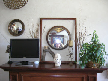 2012 My First Ever Autumn Mantel