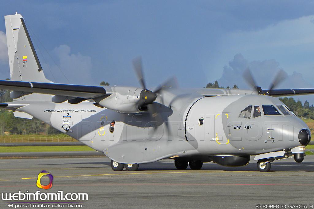 Aviacion de Transporte Ligero (ATL)- Deuda Pendiente de las FFAA AVIACION_NAVAL_ARMADA_REPUBLICA_COLOMBIA_EADS_CASA_CN-235_Persuader_FITS