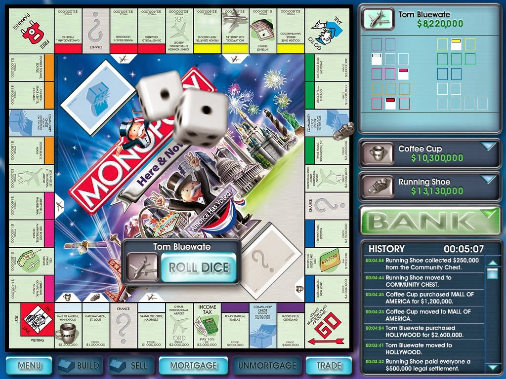 Game Monopoly Here and Now Full Version