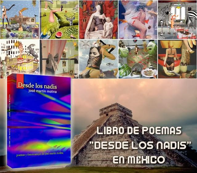 libro de poemas surrealistas y eróticos Desde los nadis