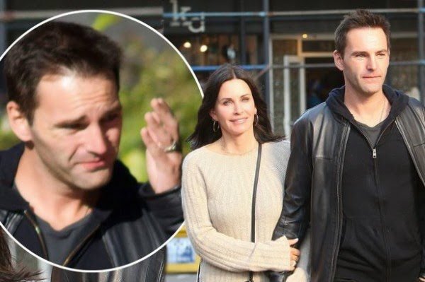 Courteney Cox, wedding, Johnny McDaid