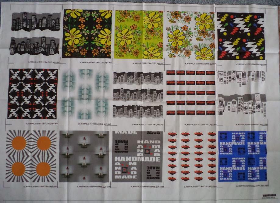 Spoonflower fabrics by eSheep Designs