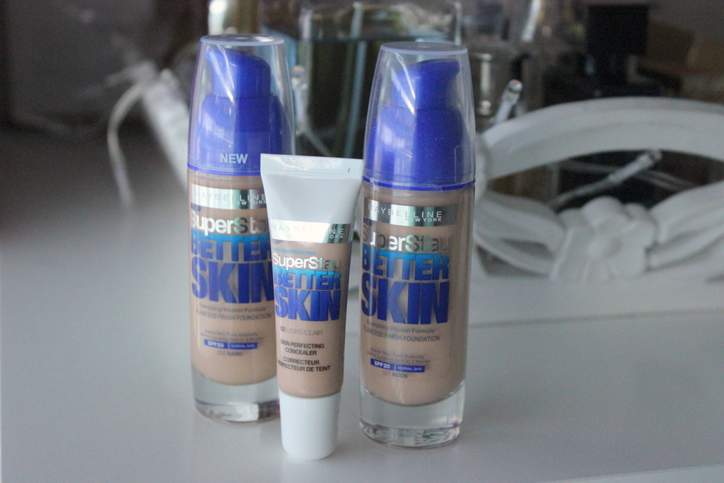 maybelline better skin foundation shades