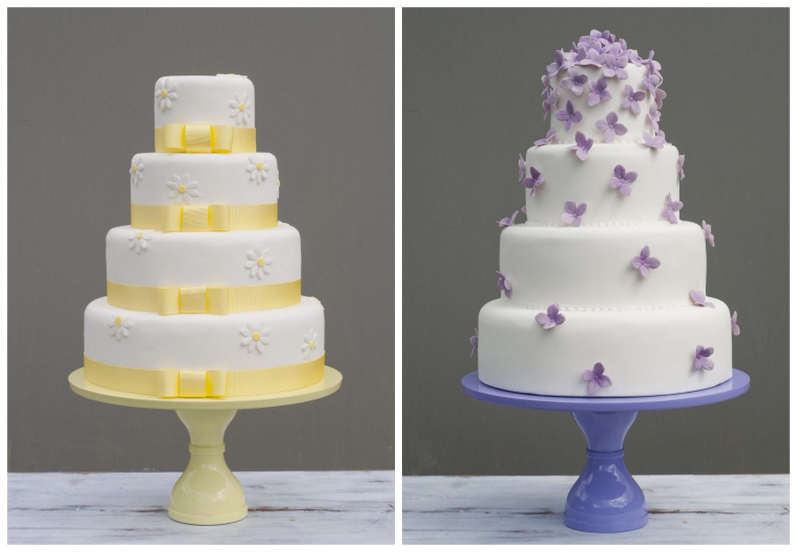 Cake Decorations For Wedding Cakes Uk : Edible Wedding Place Cards & Cakes