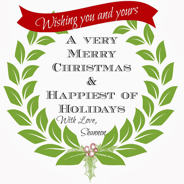 Happy Holidays sewing tutorials, craft projects, decorating ideas from Shannon Sorensen Designs