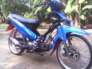 motor drag: motor vega modifikasi pontianak