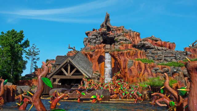 Splash Mountain Walt Disney World