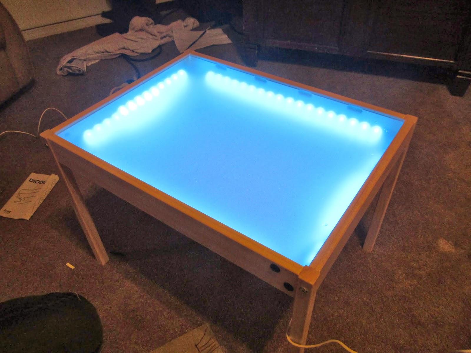 Hobby Mommy Creations: DIY Light Table   IKEA Hack