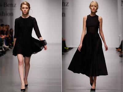 Fashion Girl Black Skirt Anna October Kiev