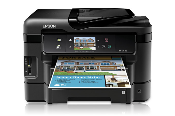 Epson Workforce 3540 Driver Download