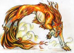 Tsuki Fiery Wolf Form~