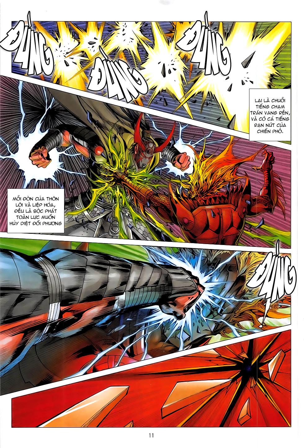Chiến Phổ chap 19 - Trang 11
