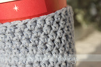 Blue Coffee Cozy by Sunshine Makings