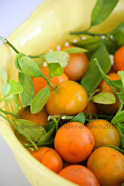 ... , Dinner & Punch: Candied Golden Limes ~ What to do with Calamansi