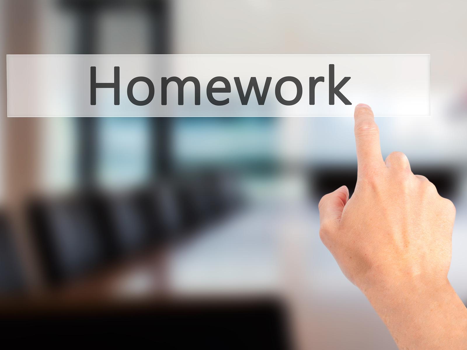 Value Of Homework