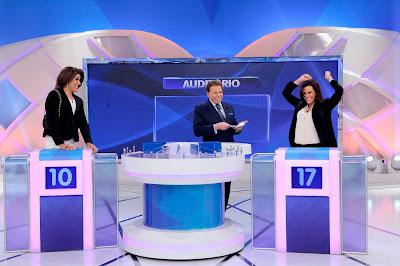 Narcisa Fake, Silvio e Narcisa Tamborindeguy (Crédito: Lourival Ribeiro/SBT)