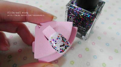 GLORY glitter polish for Spring! Glitter Polish
