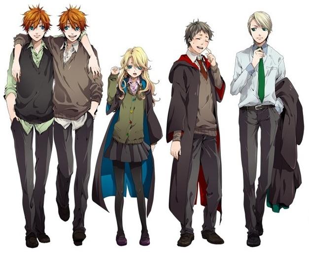 M O M O K O A S U K A { 2 }: Harry Potter versión anime