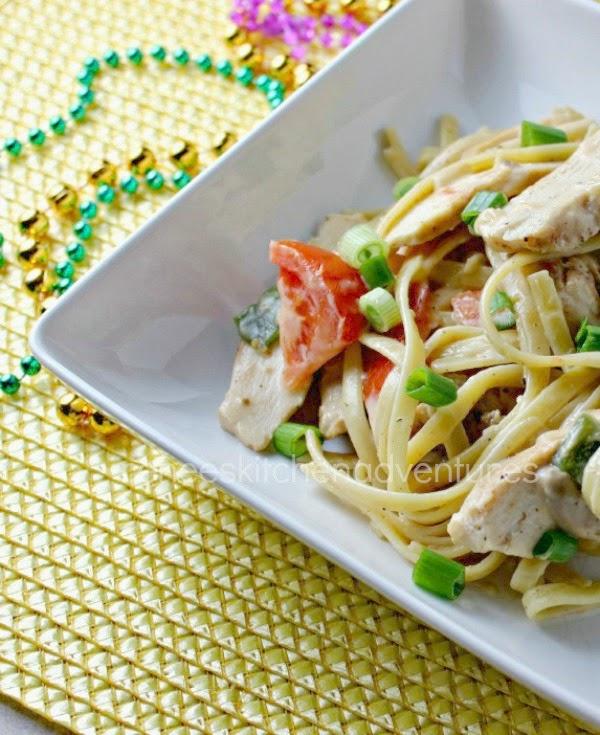 Cajun chicken and sausage pasta renee 39 s kitchen adventures for Renee s kitchen