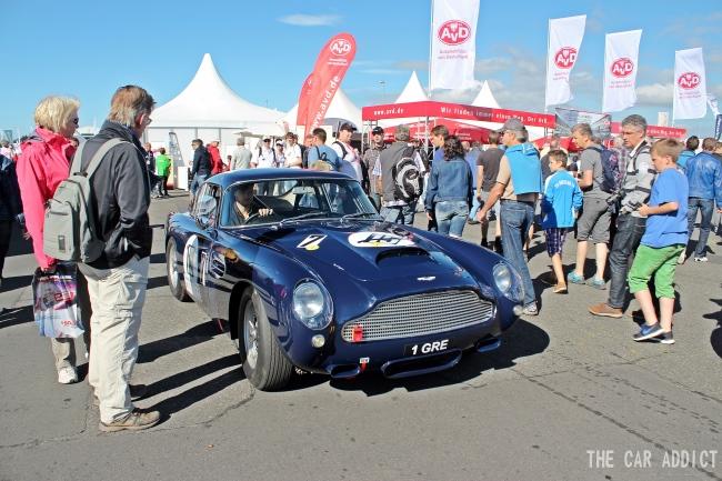 Oldtimer Grand Prix 2013 Nurburgring Aston Martin