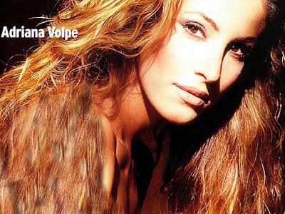 Italian Model Adriana Volpe