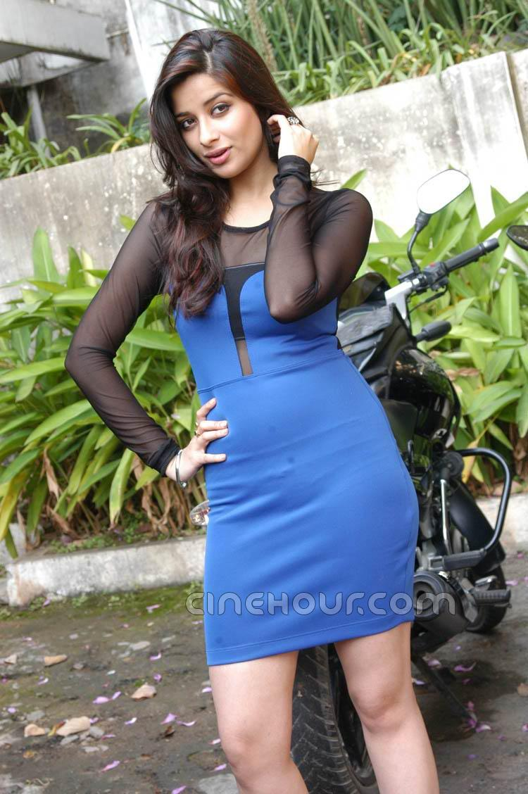 Madhurima in Blue Dress1 - Hot Madhurima in Blue Dress