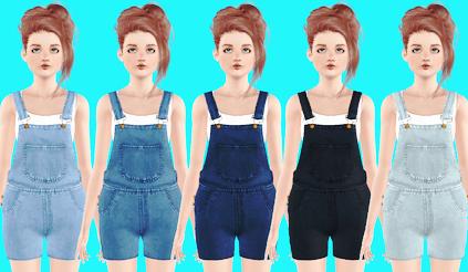 180. Fryzury i ubrania do pobrania do The Sims 3