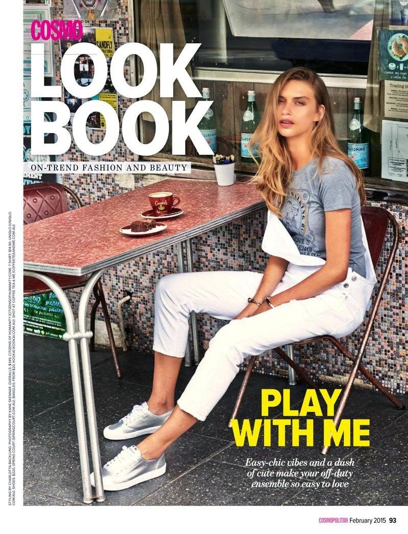 Avril Alexander - Cosmopolitan, Australia, February 2015
