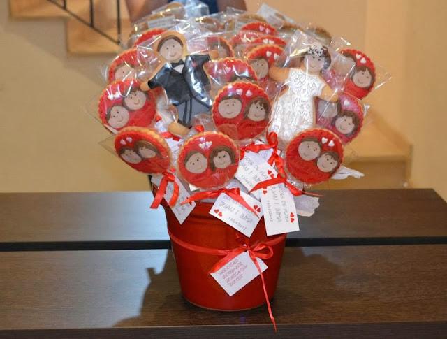 Galletas decoradas Fondant personalizadas Bodas de Plata sugar dreams gandia detalle regalar a los invitados