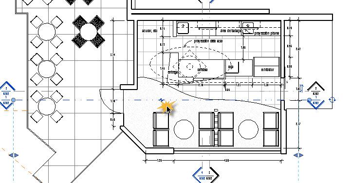 Proyect o revit cambiar el tipo de l nea en las lineas de for Planos en linea
