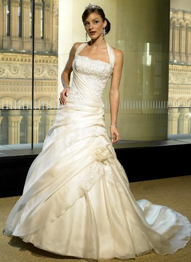 gorgeous halter princess wedding dress wedding dresses