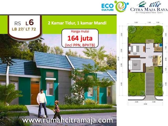 Rumah Subsidi Citra Maja Tipe L6