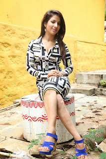 Actress Shunay Latest  Pictures in Short Dress  003