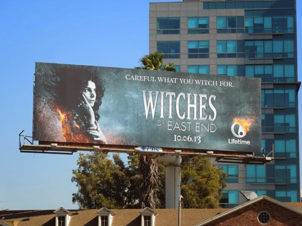 Witches of East End Julia Ormond billboard