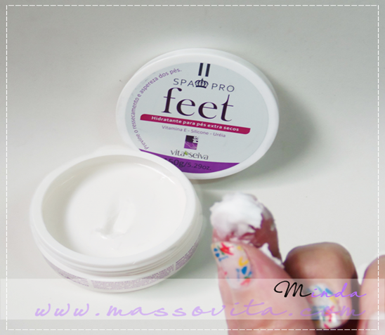 Feet, hidratante para pés extra secos