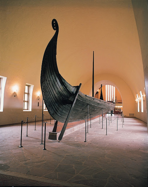 The Viking Ship Museum in Oslo, Norway, houses three 1,000-year-old ships recovered along the Oslofjord. Photo: Johan Berge - Visitnorway.com. Unauthorized use is prohibited.