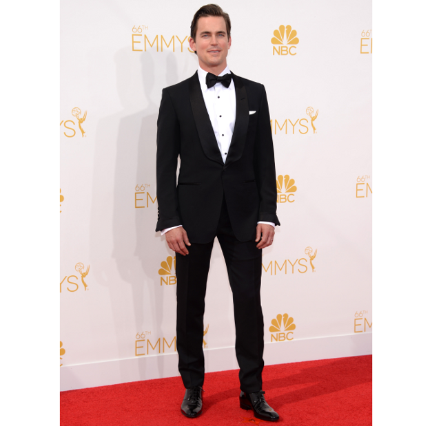 El actor Matt Bomer en la alfombra roja de los Emmy